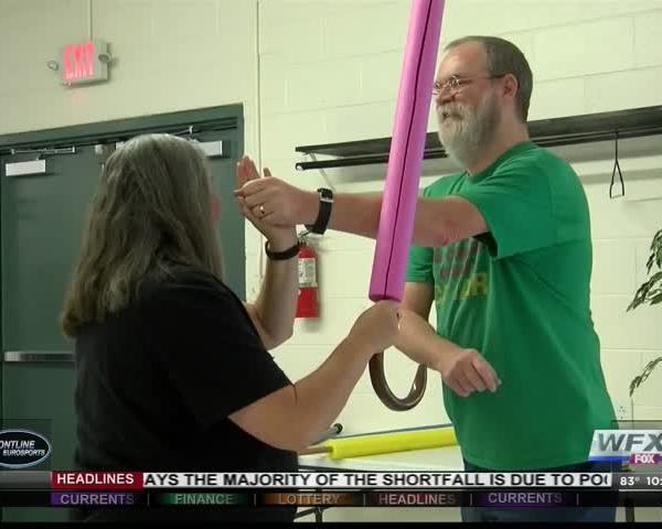 Self-defense class teaches combat with canes_33841824-159532
