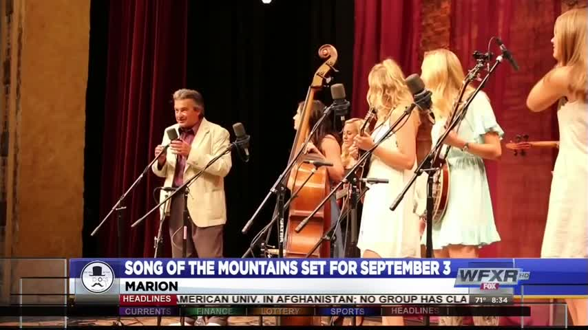 Song of the Mountains set for September 3_14008567-159532