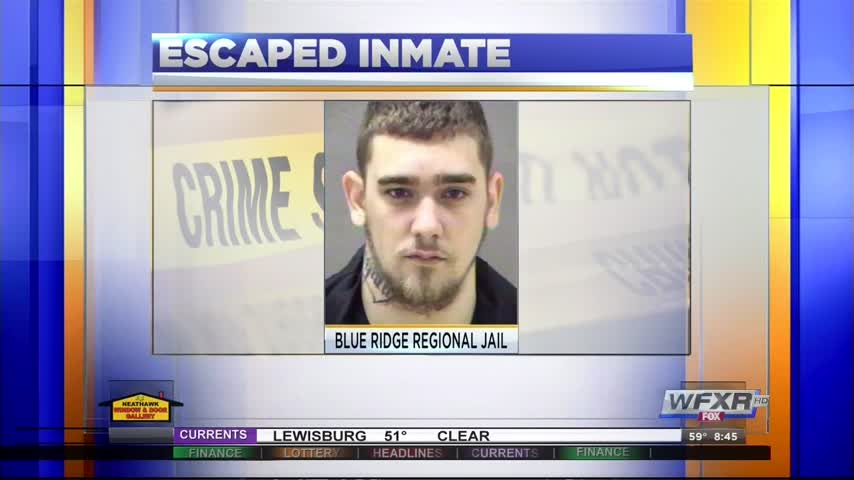 Reported inmate escape in Lynchburg_20160912125703