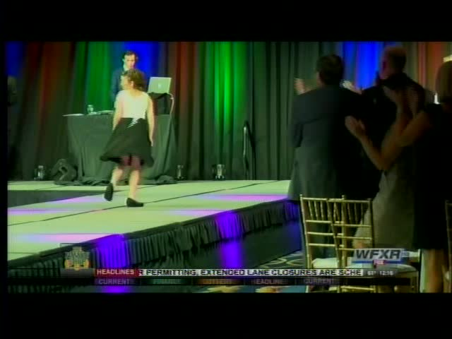 Cancer survivors walk the runway at Cure by Design Gala_67775840-159532