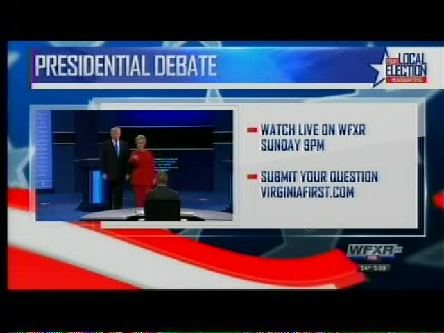Submit your question for the Presidential Debate