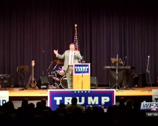 Dr- Ben Carson was a no show at rally in Wytheville_25990063-159532