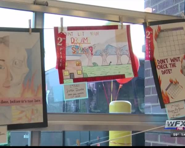Fire Prevention Week art contest winners honored_66600182-159532