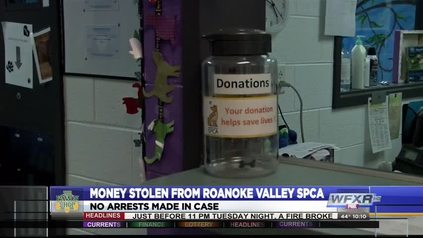 Donations stolen from Roanoke Valley SPCA_45300032