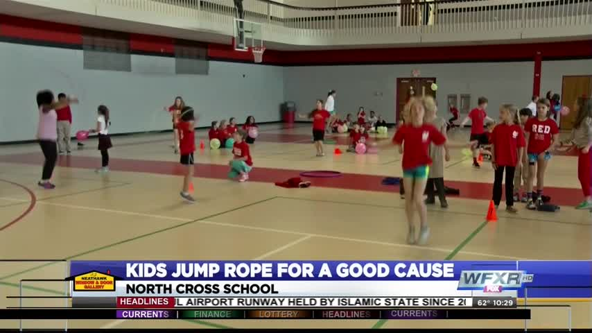 North Cross School students jump rope for a good cause_76124928