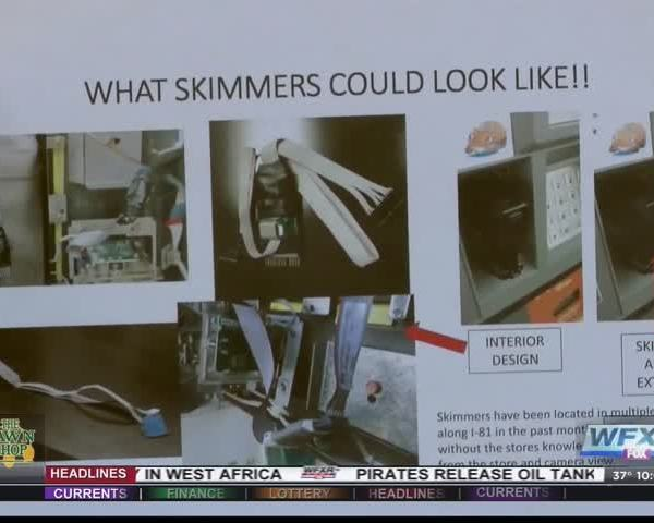 Roanoke Co- Police passing out flyers warning of skimmers_77132736