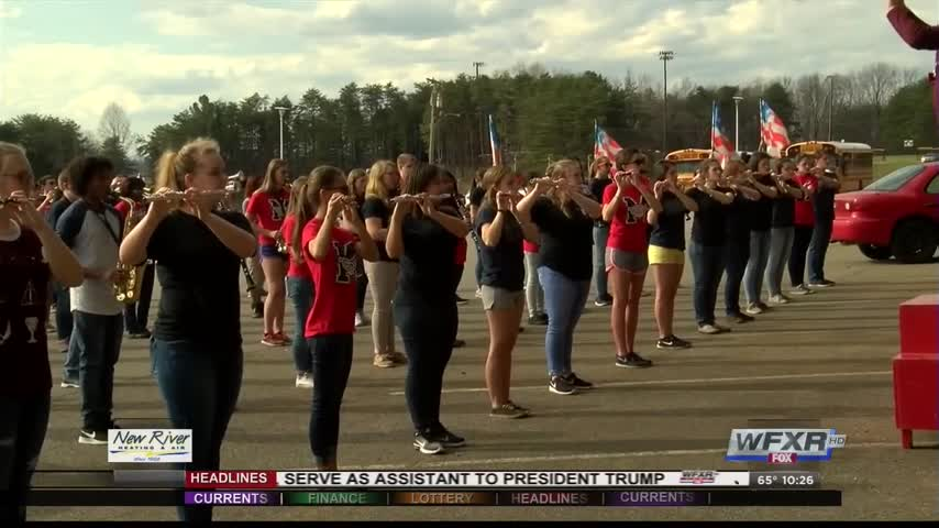 Bands come together for STP 500