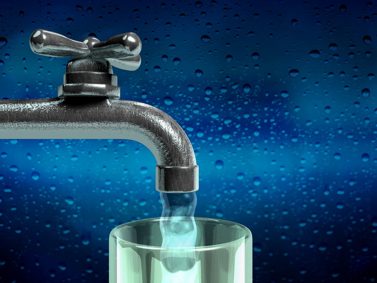 Large areas of the Town of Bedford are facing water issues.