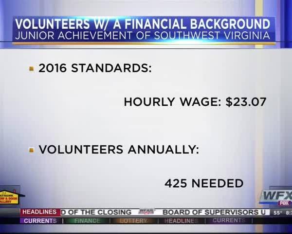 Volunteer Appreciation Week; JA's need for volunteers