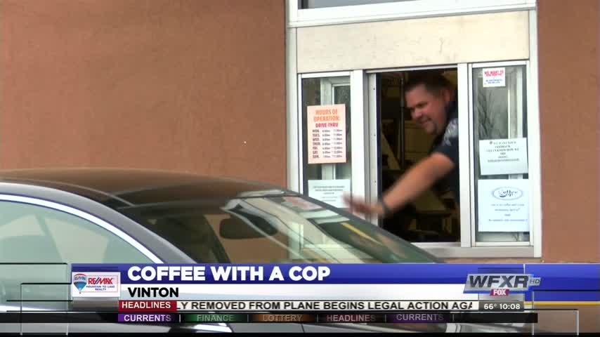 Coffee with a Cop in Vinton_42409450