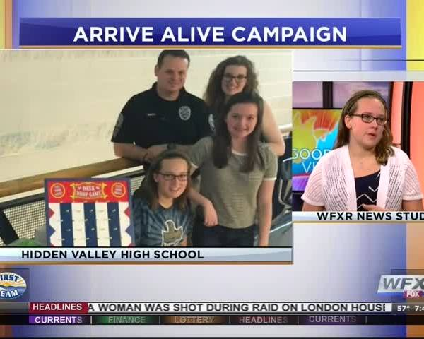 YOVASO: 'Arrive Alive' Campaign at Hidden Valley High School