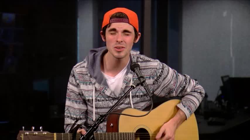 Troy Batey performs on GDV