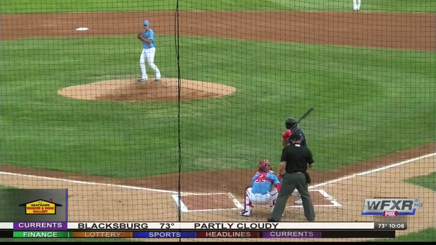 Thousands turn out for Carolina League All-Star Game_44446158