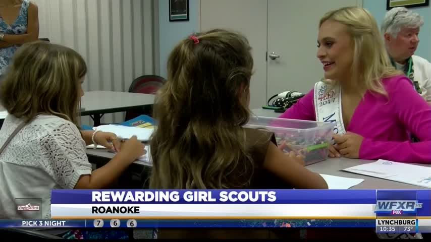 Girl Scouts CEO for the day