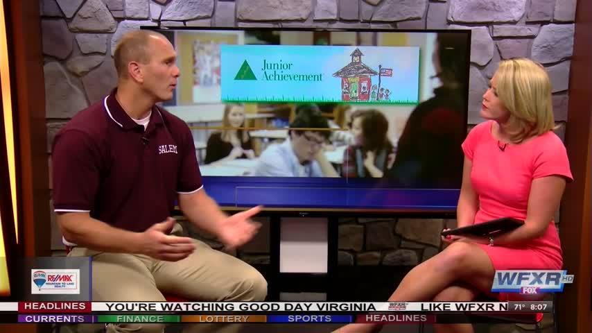 Junior Achievement: Job Shadowing in Salem City Schools