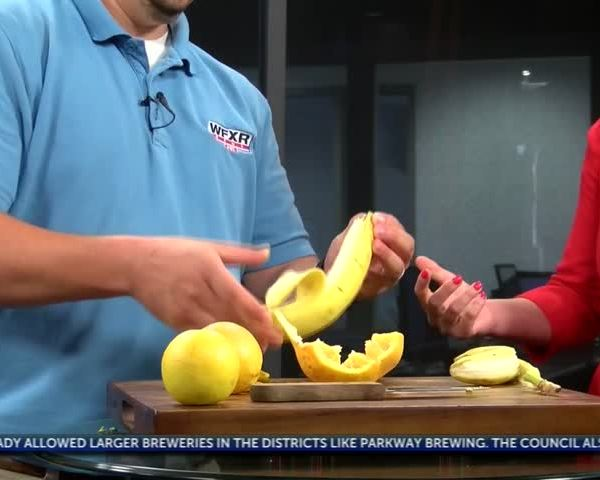 Life Hacks: An easier way to peel fruit