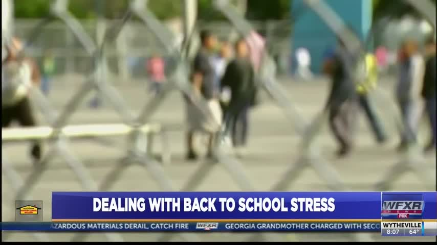 Dealing with back to school stress_62511937
