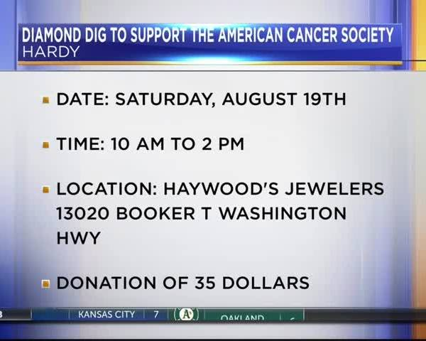 Diamond Dig supports the American Cancer Society_23774799
