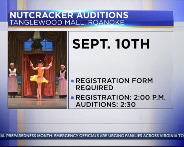 Auditions for Southwest Virginia Ballet's The Nutcracker