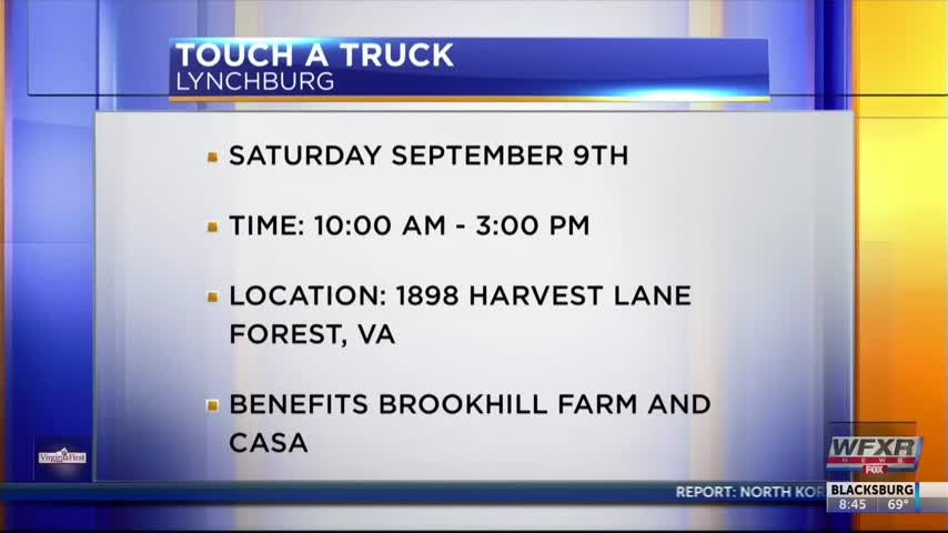 Many trucks roll into Touch A Truck Lynchburg September 9th_11456919
