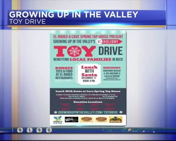 Growing Up In The Valley: Toy drive for families in need