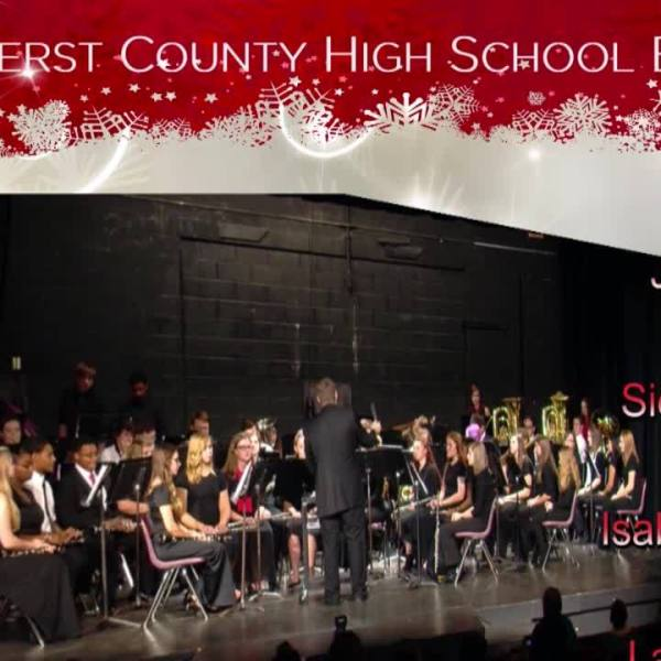 Sounds of the Season-Amherst County High School Band