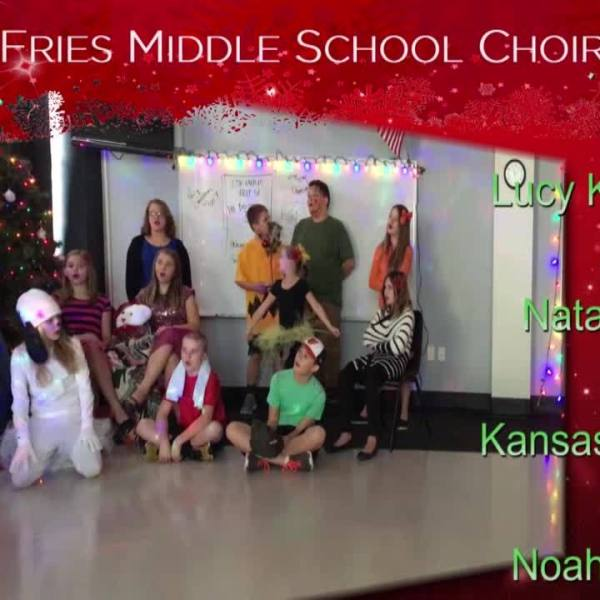 Sounds of the Season-Fries Middle School Choir