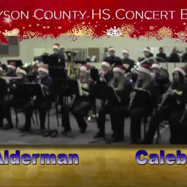 Sounds of the Season- Grayson County High Concert Band