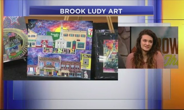 Growing Up In The Valley: High school senior creates her own art business