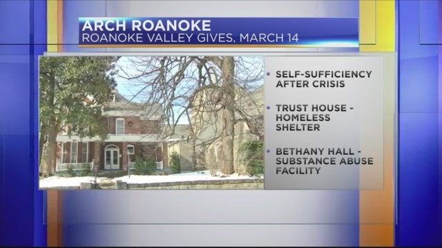 Roanoke Valley Gives Day: ARCH