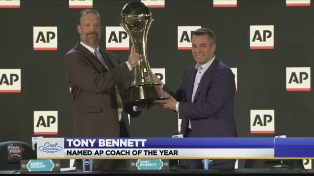 UVA's Tony Bennett named AP Coach of the Year