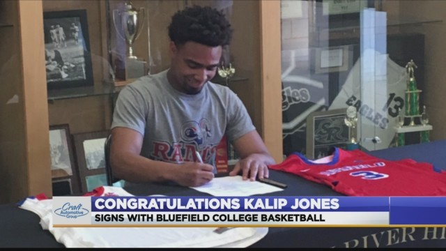 Staunton River's Kalip Jones signs with Bluefield College