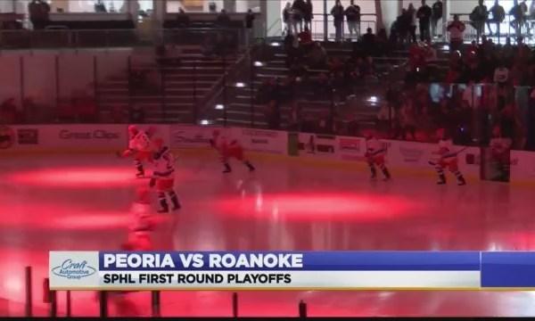 Peoria vs Roanoke Rail Yard Dawgs