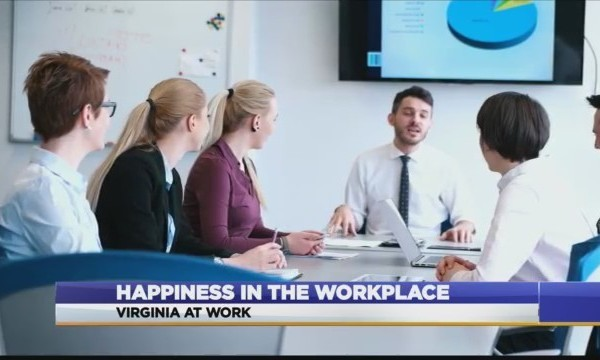 Virginia At Work: Happiness in the workplace