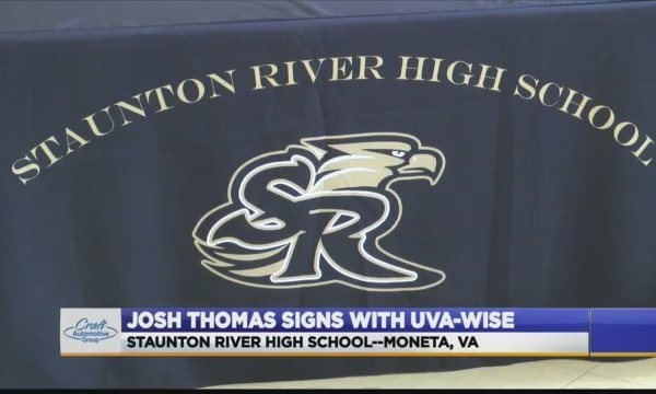 Staunton River's Josh Thomas signs to UVA-Wise