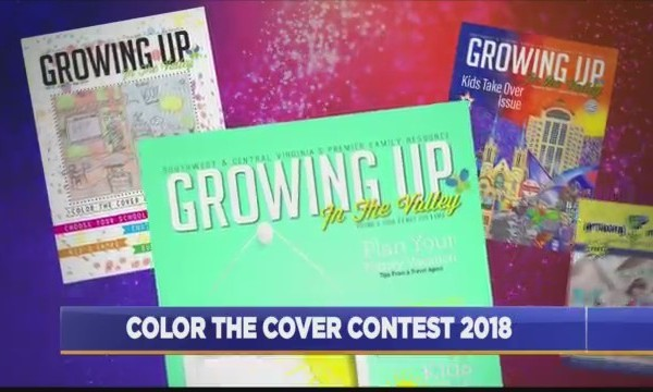 Growing Up In The Valley's Color The Cover Contest is Underway
