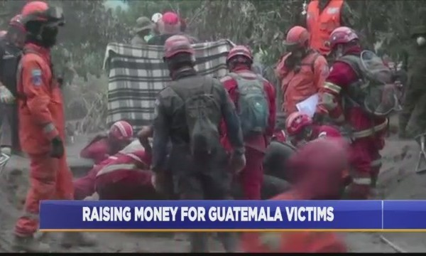 Raising money for guatemala victims