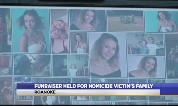 fundraiser for homicide victim