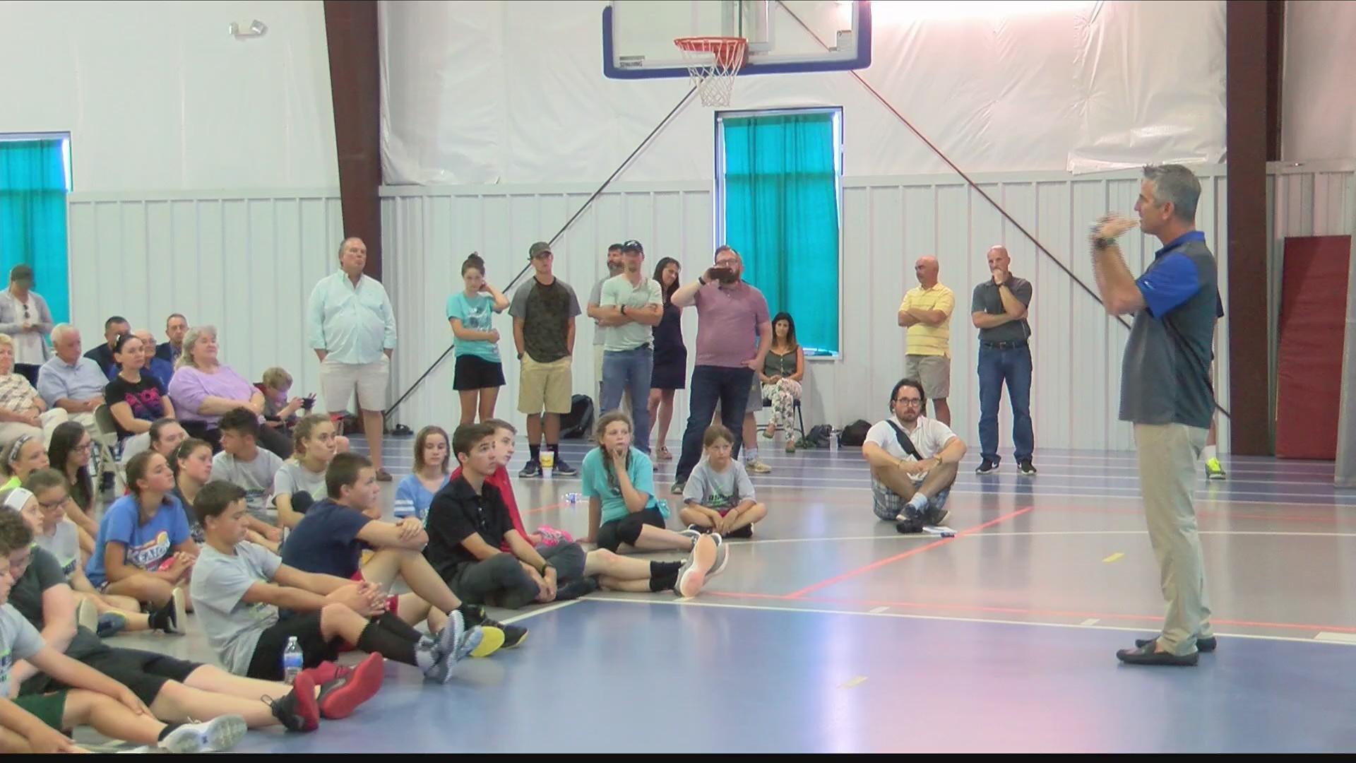 SMLCA Basketball Camp