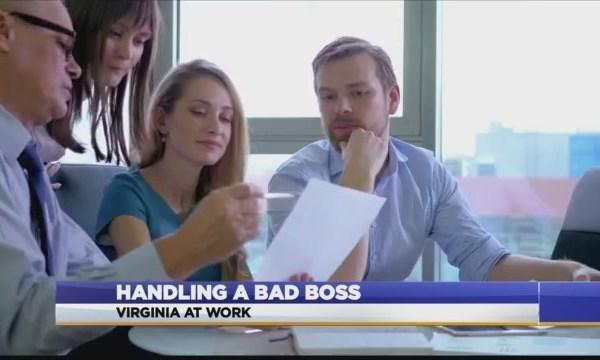 Virginia At Work: Signs of a bad boss