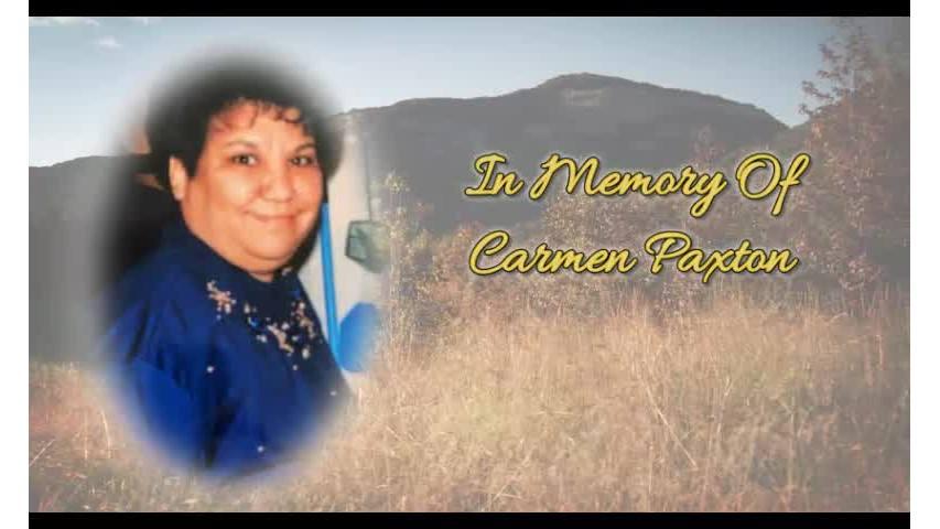 Carmen Paxton Memorial