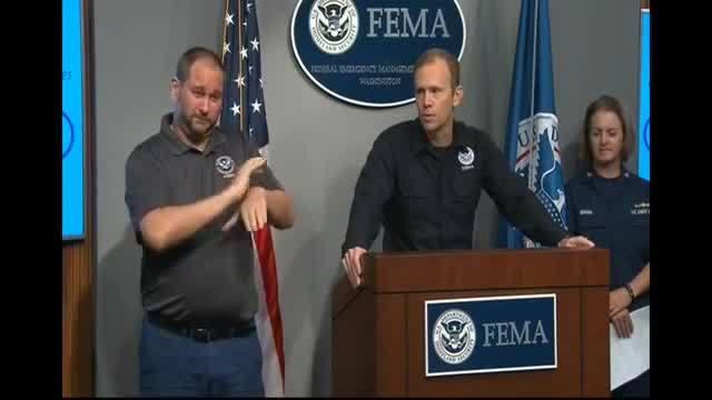 FEMA presser