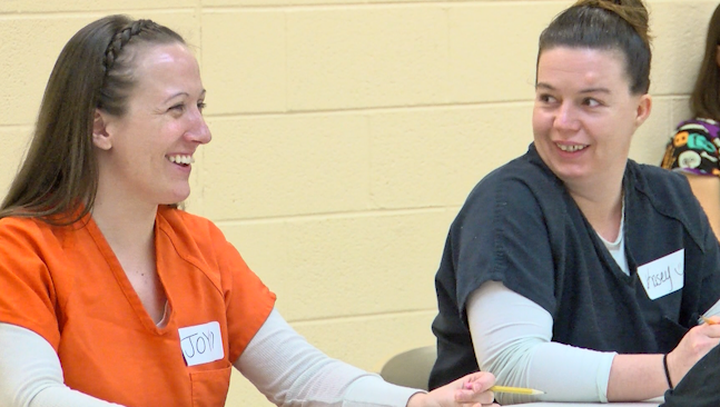 College class held inside jail aims to help inmates avoid
