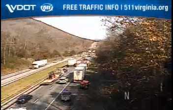 TRAFFIC ALERT: Vehicle accident in Botetourt causes delays on I-81