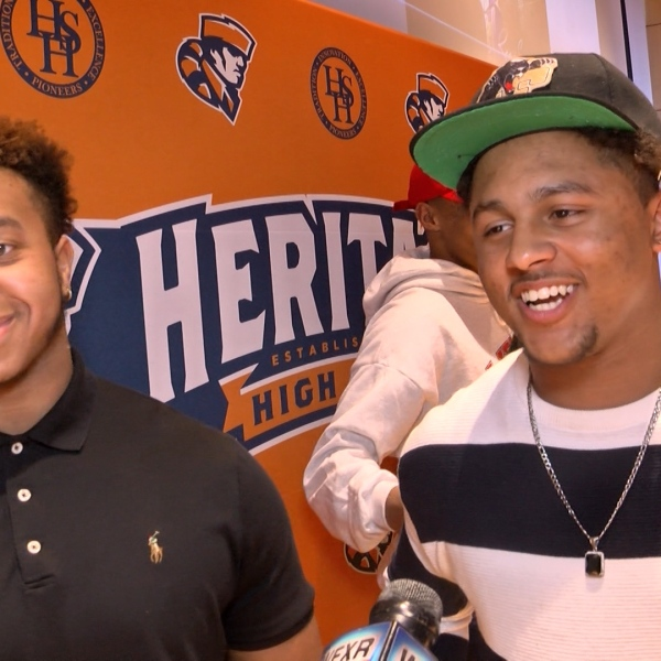 NSD 2019: Hasan Rivera and KJ Burks (Heritage) Interview