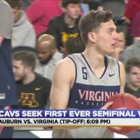 Amid Spectacle Of Final Four, UVa and Auburn Preps For Battle