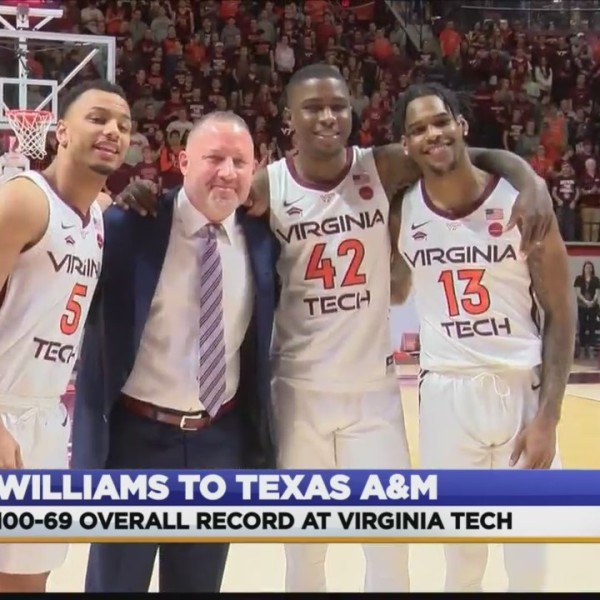 BUZZ WILLIAMS LEAVING VT TO COACH AT TEXAS A&M