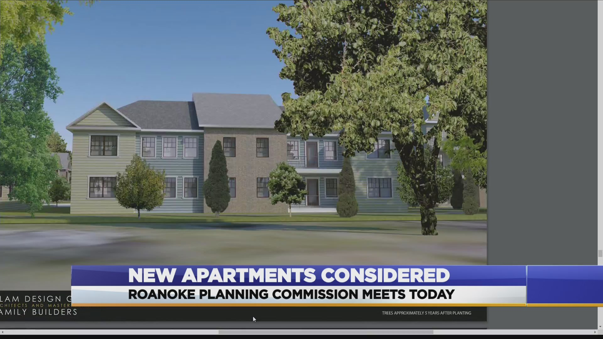 New apartments being considered on Williamson Road