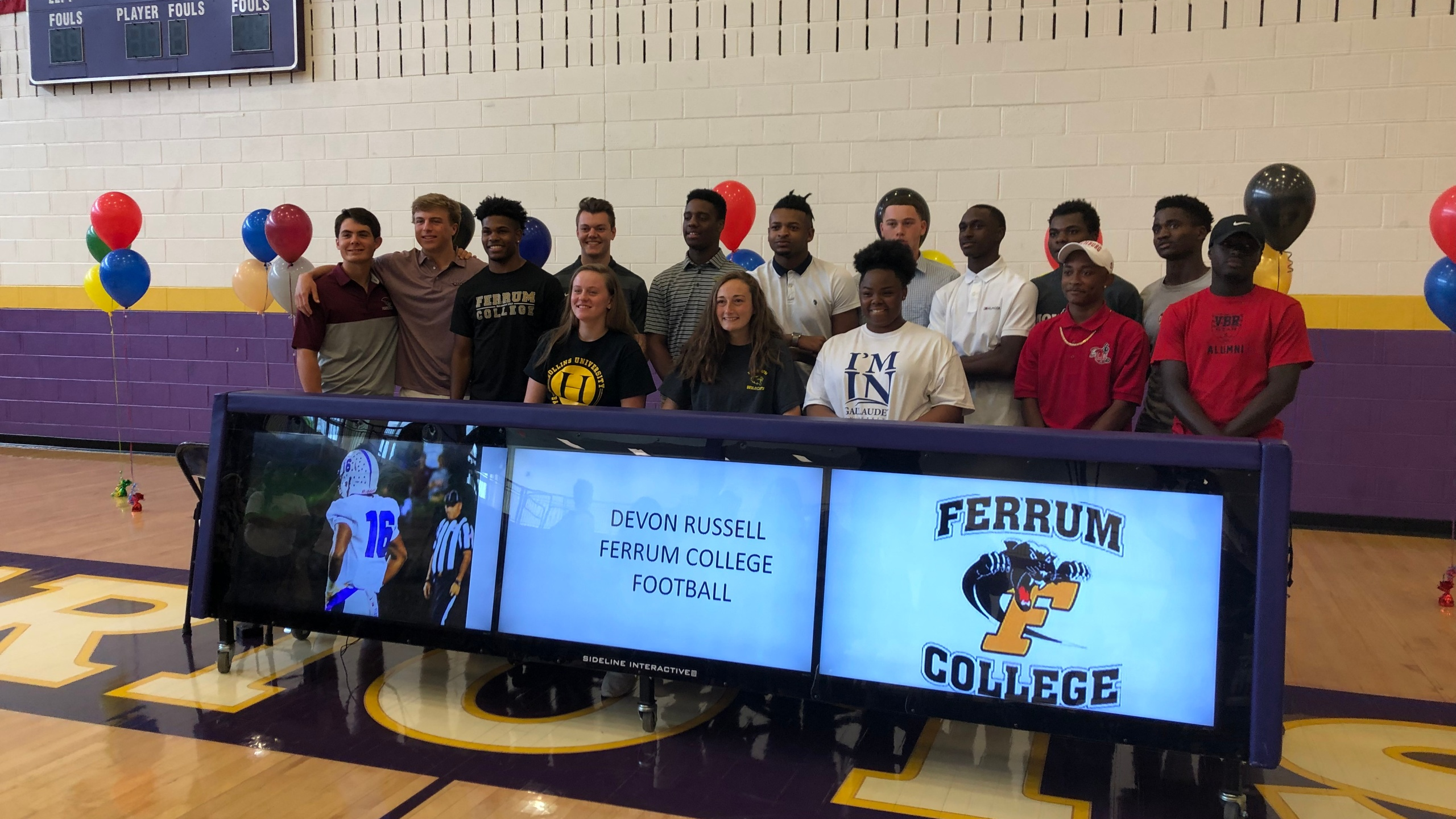 Signing Day at Patrick Henry