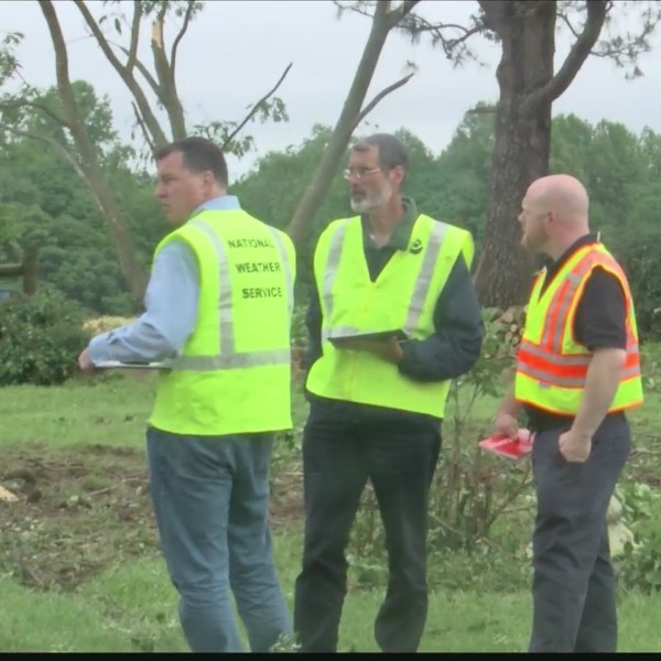 NWS confirms tornado hit Campbell County over the weekend
